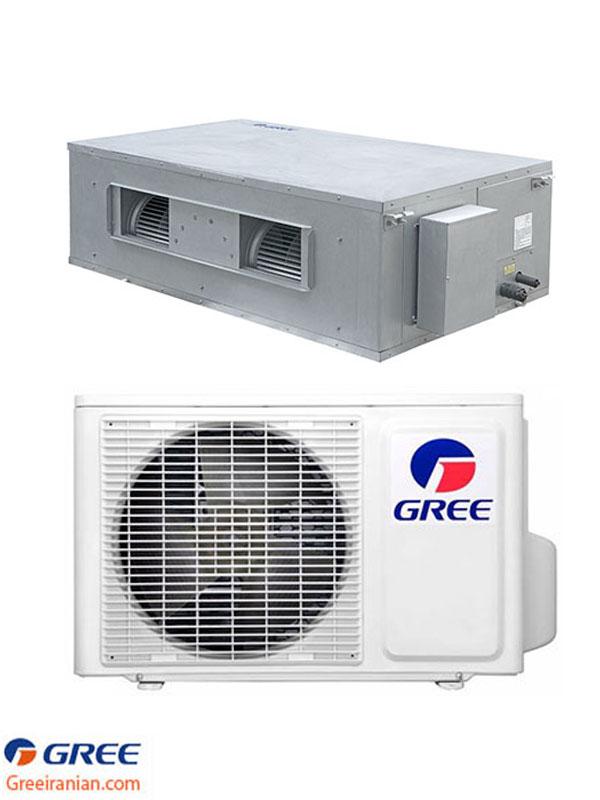 کولر گازی 36000 داکت اسپلیت کانالی گری GFH36K3CI